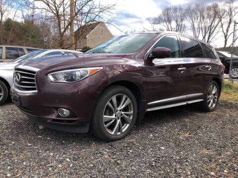 2013 Infiniti JX35 for sale at Top Line Import in Haverhill MA