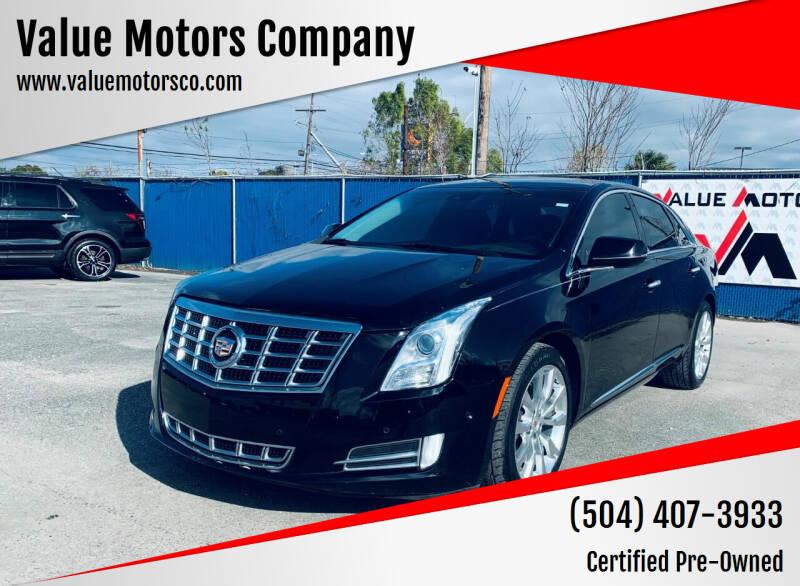 2015 Cadillac XTS for sale at Value Motors Company in Marrero LA