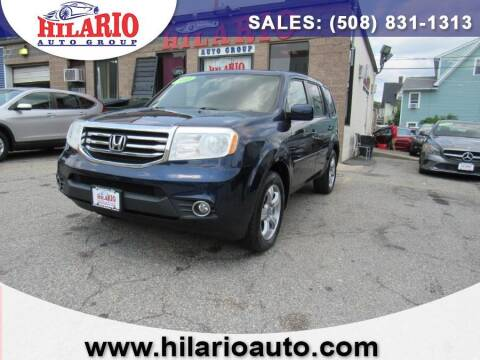 2013 Honda Pilot for sale at Hilario's Auto Sales in Worcester MA