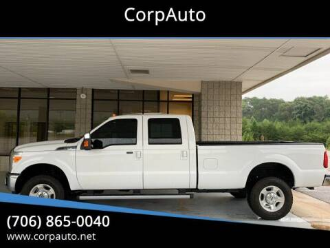 2011 Ford F-350 Super Duty for sale at CorpAuto in Cleveland GA