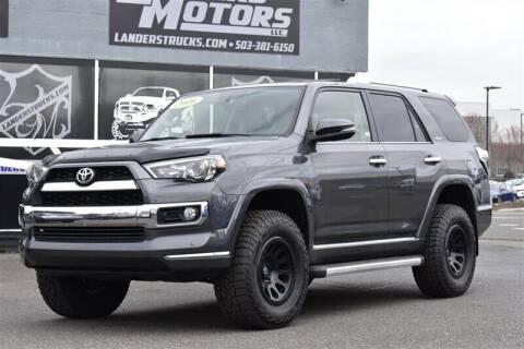 2016 Toyota 4Runner for sale at Landers Motors in Gresham OR