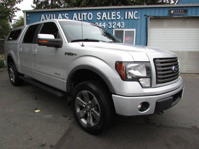 2012 Ford F-150 for sale at Avilas Auto Sales Inc in Burien WA