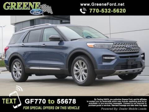 2021 Ford Explorer for sale at NMI in Atlanta GA