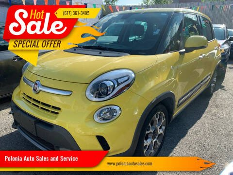 2014 FIAT 500L for sale at Polonia Auto Sales and Service in Hyde Park MA