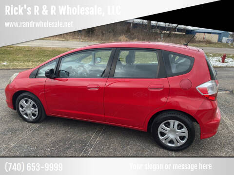 2011 Honda Fit for sale at Rick's R & R Wholesale, LLC in Lancaster OH