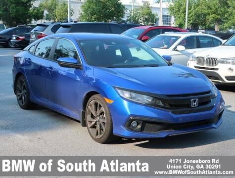 2021 Honda Civic for sale at Carol Benner @ BMW of South Atlanta in Union City GA