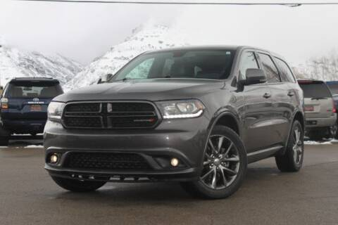 2017 Dodge Durango for sale at REVOLUTIONARY AUTO in Lindon UT