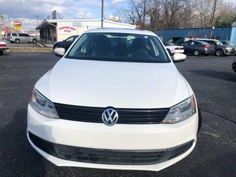 2012 Volkswagen Jetta for sale at M & J Auto Sales in Attleboro MA