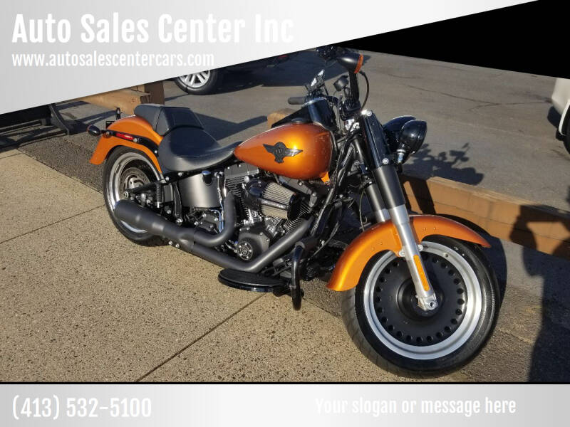 2016 Harley Davidson Fat Boy Lo for sale at Auto Sales Center Inc in Holyoke MA