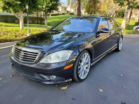 2008 Mercedes-Benz S-Class for sale at E MOTORCARS in Fullerton CA