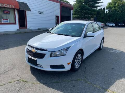 2011 Chevrolet Cruze for sale at American Auto Specialist Inc in Berlin CT
