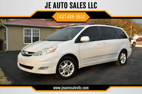2006 Toyota Sienna for sale at JE AUTO SALES LLC in Webb City MO
