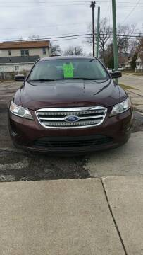 2012 Ford Taurus for sale at Jarvis Motors in Hazel Park MI