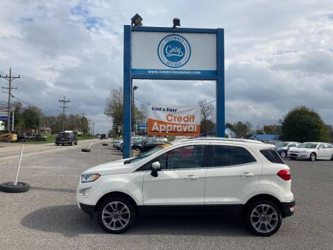 2018 Ford EcoSport for sale at Corry Pre Owned Auto Sales in Corry PA