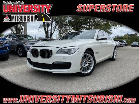 2013 BMW 7 Series for sale at University Mitsubishi in Davie FL