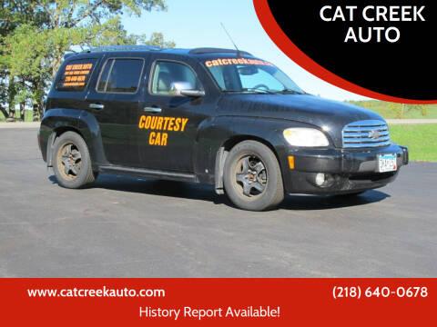2006 Chevrolet HHR for sale at CAT CREEK AUTO in Menahga MN