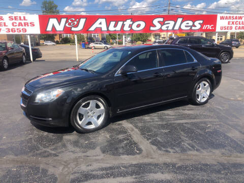 2009 Chevrolet Malibu for sale at N & J Auto Sales in Warsaw IN
