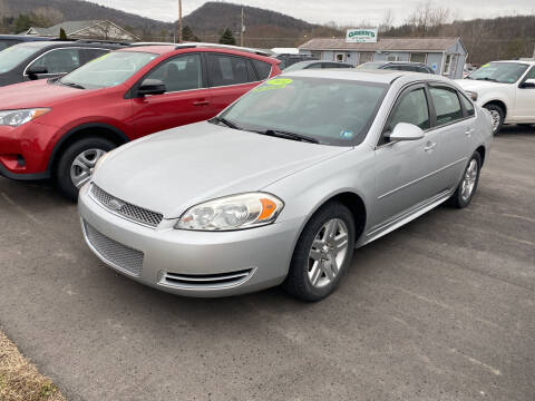 2014 Chevrolet Impala Limited for sale at Greens Auto Mart Inc. in Wysox PA