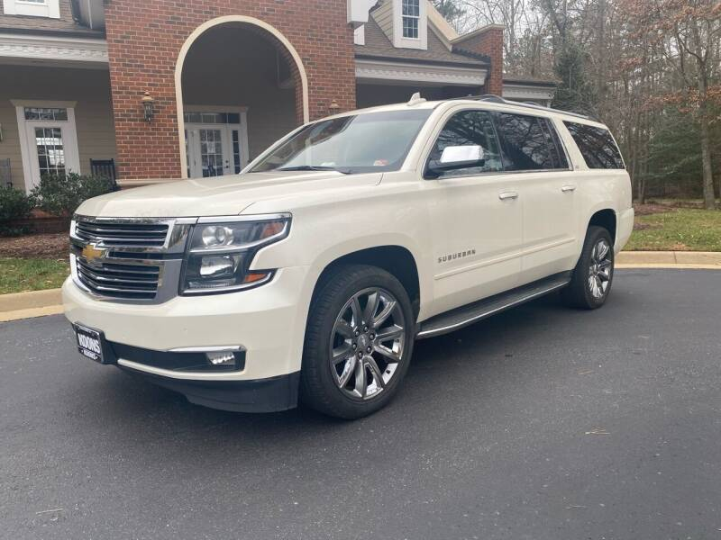 2015 Chevrolet Suburban for sale at Premier Auto Solutions & Sales in Quinton VA