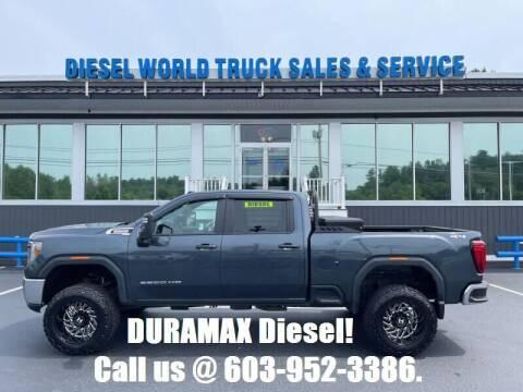 2020 GMC Sierra 2500HD for sale at Diesel World Truck Sales in Plaistow NH