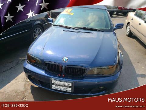 2004 BMW 3 Series for sale at MAUS MOTORS in Hazel Crest IL