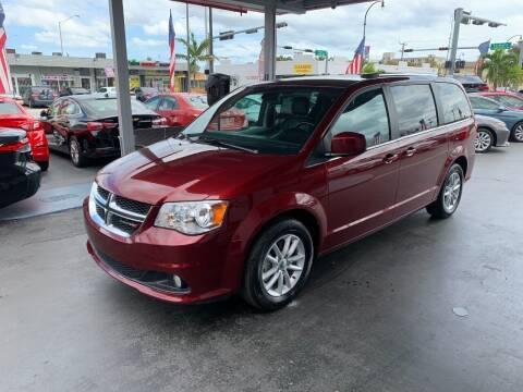 2019 Dodge Grand Caravan for sale at American Auto Sales in Hialeah FL