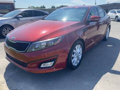 2015 Kia Optima for sale at Auto Credit Xpress - Sherwood in Sherwood AR