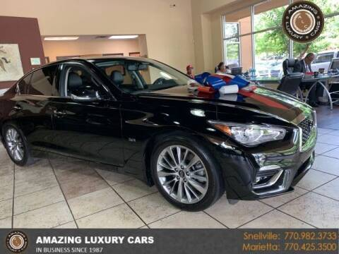 2019 Infiniti Q50 for sale at Amazing Luxury Cars in Snellville GA