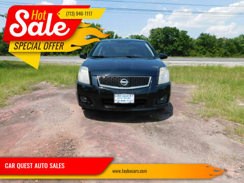 2010 Nissan Sentra for sale at CAR QUEST AUTO SALES in Houston TX