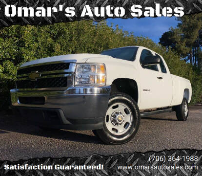 2011 Chevrolet Silverado 2500HD for sale at Omar's Auto Sales in Martinez GA