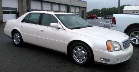 2002 Cadillac DeVille for sale at Angelo's Auto Sales in Lowellville OH