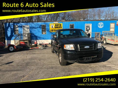 2006 Ford F-150 for sale at Route 6 Auto Sales in Portage IN