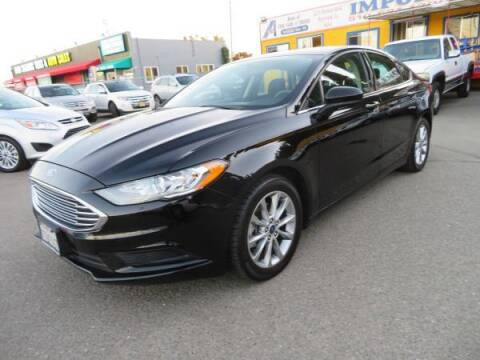 2017 Ford Fusion for sale at Import Auto World in Hayward CA