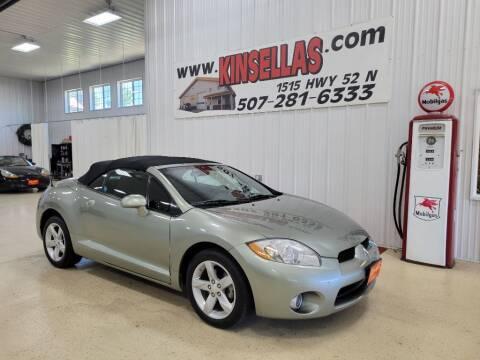 2008 Mitsubishi Eclipse Spyder for sale at Kinsellas Auto Sales in Rochester MN