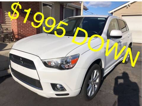 2012 Mitsubishi Outlander Sport for sale at Cooks Motors in Westampton NJ