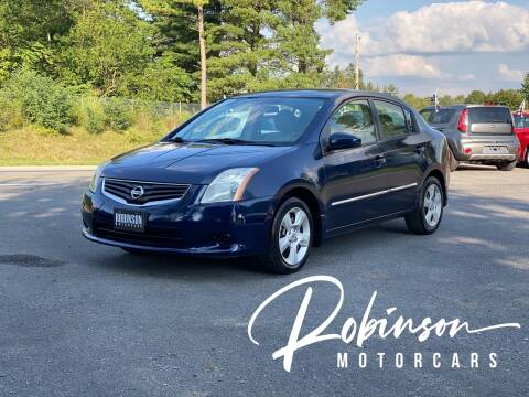 2011 Nissan Sentra for sale at Robinson Motorcars in Hedgesville WV