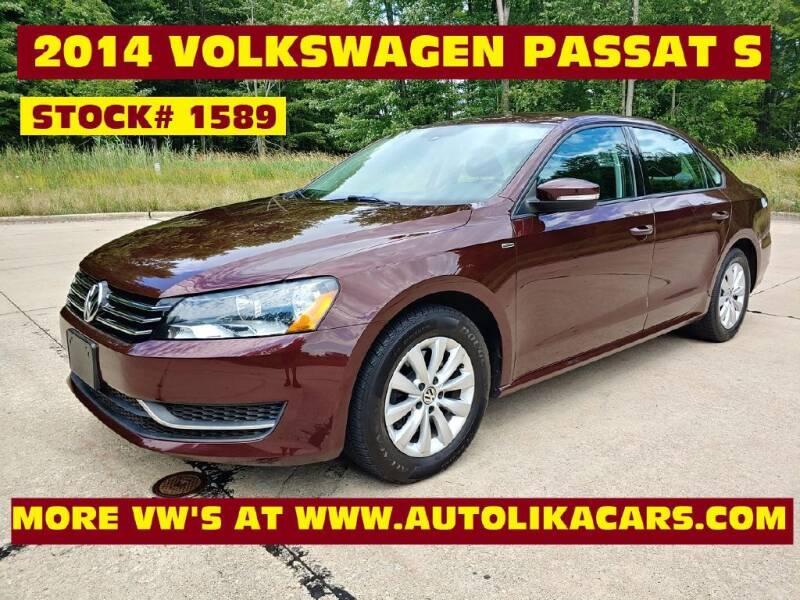 2014 Volkswagen Passat for sale at Autolika Cars LLC in North Royalton OH