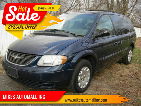 2002 Chrysler Town and Country for sale at MIKES AUTOMALL INC in Ingleside IL