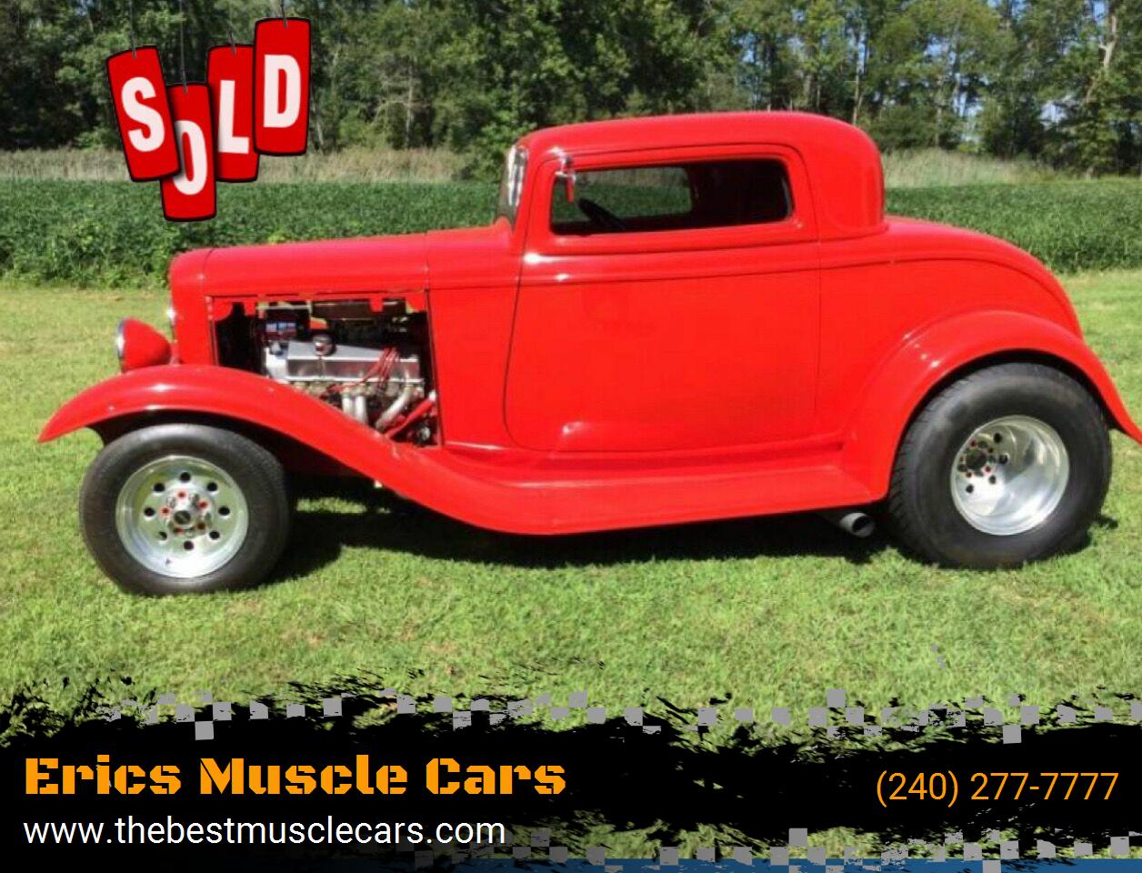 1932 Ford Streetrod SOLD SOLD SOLD