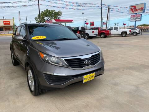 2013 Kia Sportage for sale at Russell Smith Auto in Fort Worth TX
