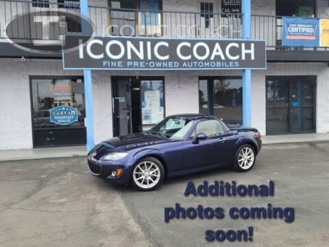 2012 Mazda MX-5 Miata for sale at Iconic Coach in San Diego CA