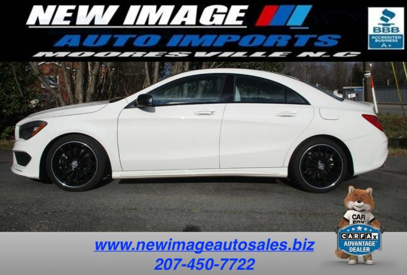 2016 Mercedes-Benz CLA for sale at New Image Auto Imports Inc in Mooresville NC