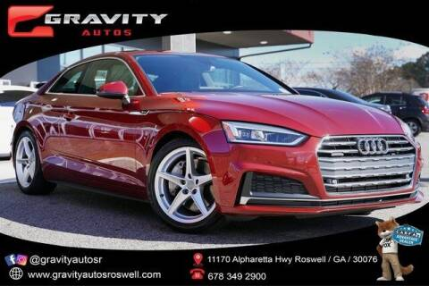 2019 Audi A5 for sale at Gravity Autos Roswell in Roswell GA