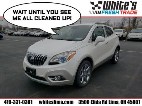 2014 Buick Encore for sale at White's Honda Toyota of Lima in Lima OH