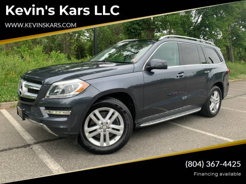 2013 Mercedes-Benz GL-Class for sale at Kevin's Kars LLC in Richmond VA