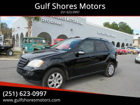 2006 Mercedes-Benz M-Class for sale at Gulf Shores Motors in Gulf Shores AL