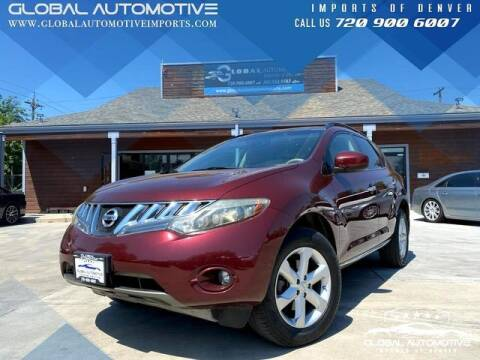 2009 Nissan Murano for sale at Global Automotive Imports of Denver in Denver CO