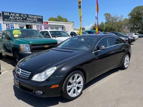 2008 Mercedes-Benz CLS for sale at Black Diamond Auto Sales Inc. in Rancho Cordova CA