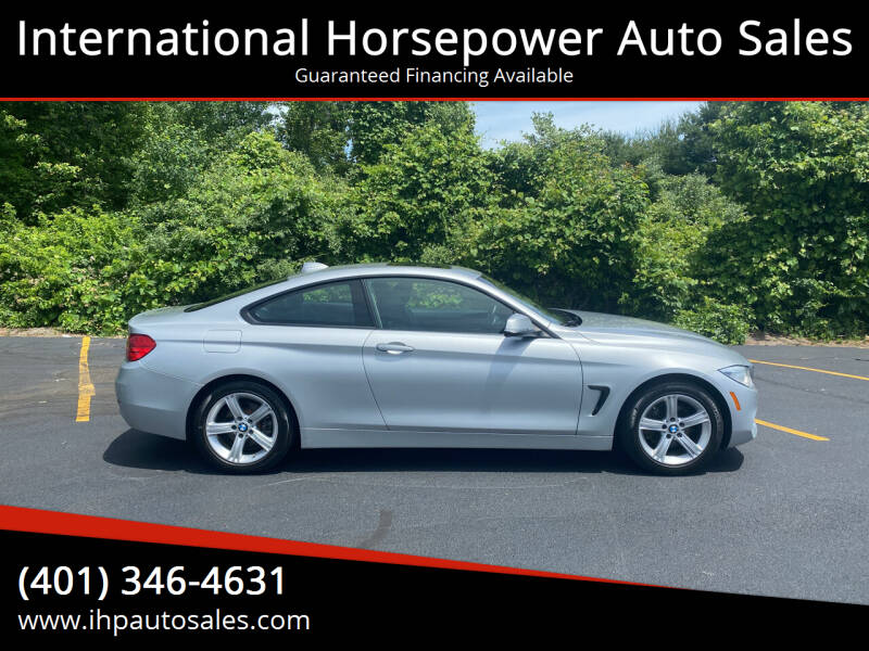 2014 BMW 4 Series for sale at International Horsepower Auto Sales in Warwick RI