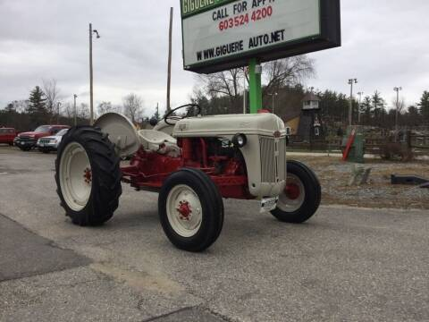 1951 Ford TRACTOR for sale at Giguere Auto Wholesalers in Tilton NH